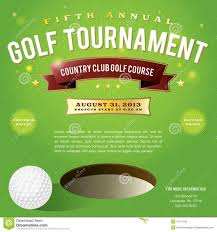 Golf Tournament Flyer Template Golf Tournament Flyer Template Shatterlion Info