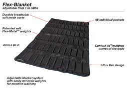 Flex Blanket Soft Flexible Weighted Blanket Adjustable From