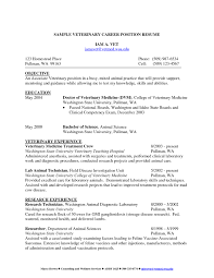 Sample Cover Letter For Resume Veterinary Technician Fresh