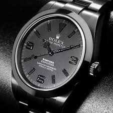 25 best ideas about all black watches black looking for an all black watch this is it bamford watch department men s street fashiondiamond watchesrolex