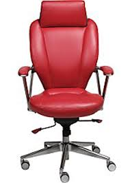 red leather office chair. It Was A Large, Modern, Executive Office Chair. Burnished Aluminum And Red Leather. Really, Really Leather Chair R