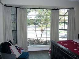 bay window curtains rods bay window curtain rod ceiling mount new ceiling mount curtain rods john
