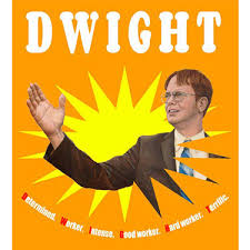 the office poster. Dwight Foreva The Office Poster N