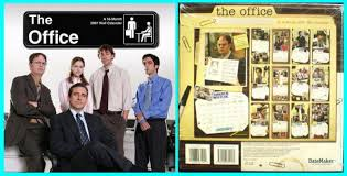the office merchandise. The Office 2007 Calendar Image Merchandise