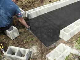 diy raised garden bed with cinder blocks 7