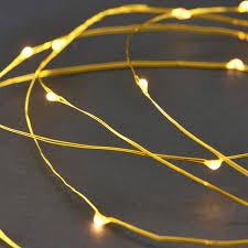 String Lights Brass 80 Leds 10 Meters House Doctor
