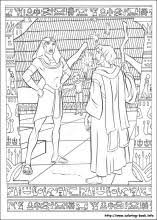 Small Picture The Prince of Egypt coloring pages on Coloring Bookinfo