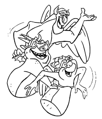 Do you see tinker bell ? The Hunchback Of Notre Dame Gargoyles Coloring Page Cartoon Coloring Pages Disney Coloring Pages Unicorn Coloring Pages