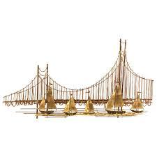 golden gate bridge metal sculpture for sale on golden gate bridge metal wall art with golden gate bridge metal sculpture at 1stdibs