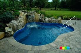 Diy Pool Waterfall Swimming Island Swimming Pool Deck Ideas Swimming