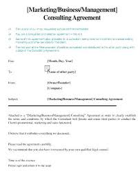 8 Consulting Sample Agreement Forms Free Example Format Management