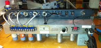 tube analog audio repair rca tube mixer wiring