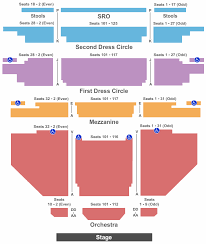 End Stage Seating Chart Interactive Seating Chart Seat Views