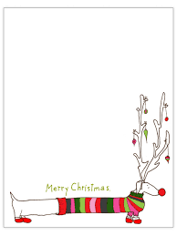 Christmas Letterhead Templates Word