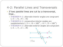 Angles Formed By Parallel Lines And Transversals Worksheet ...