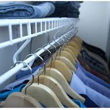 closet clothes rod continuous sliding rod closet clothes rod height