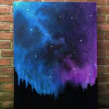 6 stardust in blue and purple hues