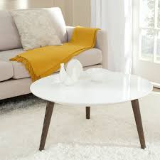 josiah retro mid century round lacquer accent table fox4217a accent tables
