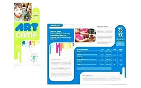 Full Time Daycare Flyer Nursery Brochure Templates Free