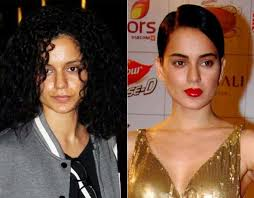 bollywood actress without makeup kangana