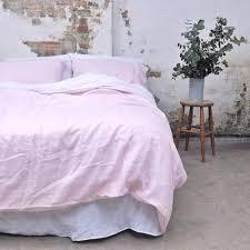 king size duvet sets. Blush Linen King Size Duvet Cover Sets