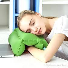 office nap. Desk Pillow Comfortable Rest Arm Glove Flight Travel Cushion Sleep Innovative Office Nap
