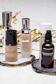 holy grail dewy foundations for a natural look