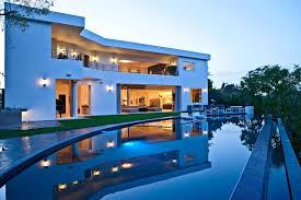 luxury home swimming pools. Unique Home Contemporary House Luxury Swimming Pool Interior Design Ideas On Home Pools E