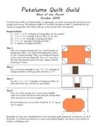 Block of the Month – Petaluma Quilt Guild & October 2016 Adamdwight.com