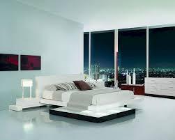 Platform Bed Bedroom Set Bedroom Set W Walk On Light Platform Bed 44b204set