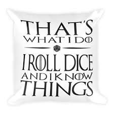 square pillow line drawing. that\u0027s what i do - dungeon master square pillow line drawing