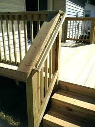 exterior wood railing stair ideas deck handrail designs imposing marvelous railings best home decor outdoor kits