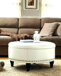 beautiful round tufted storage ottoman coffee table fantastic round tufted storage ottoman coffee table wonderfully butler
