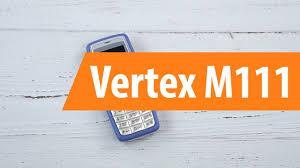 Распаковка <b>сотового телефона Vertex</b> M111 / Unboxing <b>Vertex</b> ...
