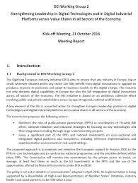 here you can find the report from the meeting the annexes and all the presentations discussed during the meeting
