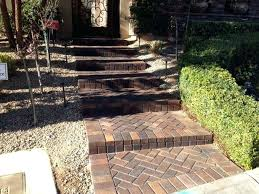 home depot garden pavers for inspiring garden design with gravels ideas and green trees plus home