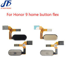 10pcs lot new fingerprint flex cable replacement for huawei for honor 9 home on