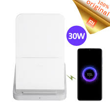 Stock Original <b>Xiaomi Vertical Air cooled</b> Wireless Charger 30W Max ...