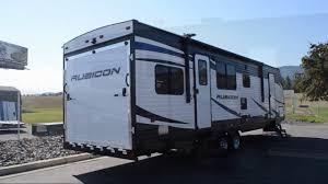 new 2019 dutchmen rv rubicon 301xlt toy hauler travel trailer at blue dog rv coeur d alene id 209209