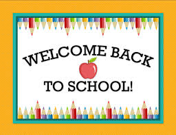 Image result for welcome back to school clip art