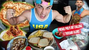Michael Phelps Diet Challenge (12,000 ...