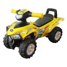 <b>Каталка Baby Care</b> Super ATV, желтый — купить в интернет ...