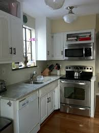 Small Dishwashers For Small Spaces Kitchen Kitchen Oak Floor Kitchen Small Dishwashers Rustic