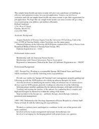 home care nurse resume sample resume sample