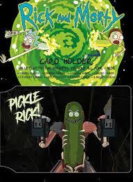 <b>Визитница Rick And Morty</b>: Pickle Rick - купить по выгодной цене ...
