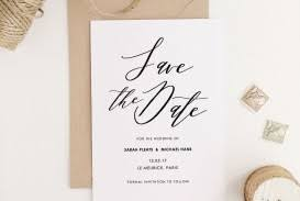 030 Save The Date Template Word Ideas Invitation Party