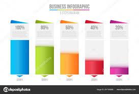 Creative Vector Illustration Of Columns Bar Chart
