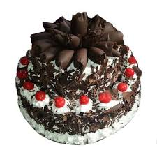2 Tier Black Forest Cake Designer Wedding Cakes Gift My Emotions