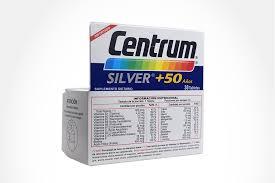 centrum silver 50 años caja con 30 tabletas