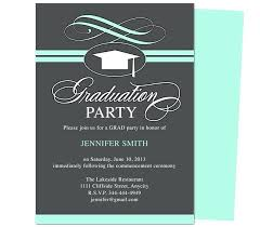 Graduation Party Invitation Templates Swirl Samples For How
